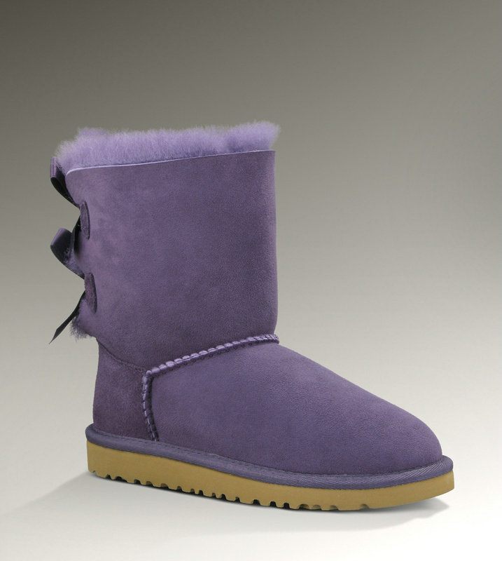 Femme Bailey Bow 1002954 Ugg Bottes Purple