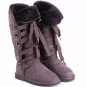 Botte UGG Australia Roxy Grand Chocolat 5818 Soldes France
