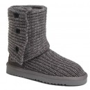 Chaussures UGG Bottes Classic Cardy 5819 Gris Réduction