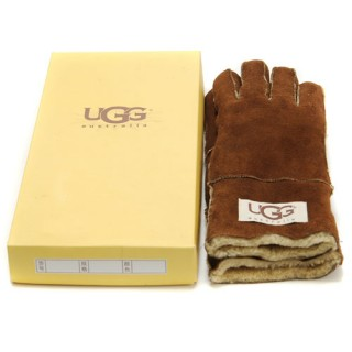 Promo UGG Gants Marron Paris