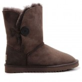 UGG Bottes Bailey Button 5803 Chocolat Original