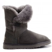 UGG Bottes Bailey Button 5803 Gris France