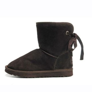 UGG Bottes Bailey Button 5808 Chocolat Site Officiel