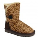 UGG Bottes Bailey Button Leopard Leopard 5803 Fr