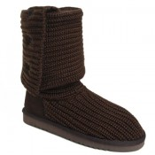 UGG Bottes Classic Cardy 5819 Chocolat Vente Privee