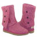 UGG Bottes Classic Cardy 5819 Rose France