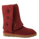 UGG Bottes Classic Cardy 5819 Rouge Soldes France