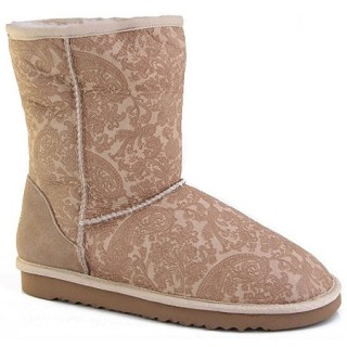 UGG Bottes Classic Short 5831 Paisley Fashion Show