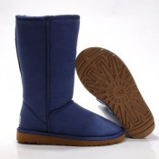 UGG Bottes Classic Tall 5815 Bleu Hot Sale