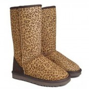 UGG Bottes Classic Tall 5815 Leopard Vente Privee
