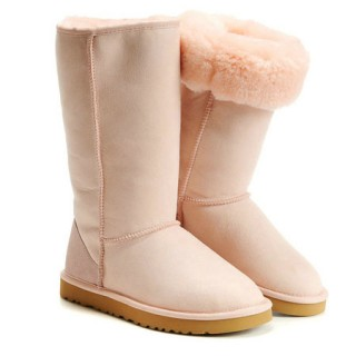 UGG Bottes Classic Tall 5815 Rose Soldes France