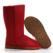 UGG Bottes Classic Tall 5815 Rouge Nouveau Style