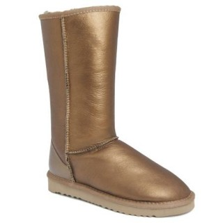 UGG Bottes Classic Tall Metallic Or 5812 Site Officiel
