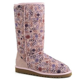 UGG Bottes Femme Classic Tall 5804 Rose Achat
