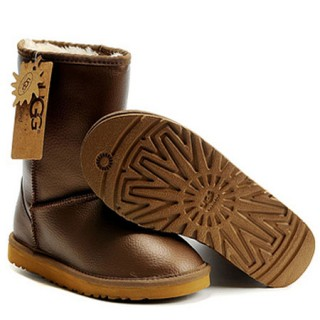 UGG Bottes France Classic Short 5842 Or Réduction