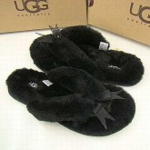 UGG France Fluff Bottes Flip Flops Noir 5304 Fashion Show
