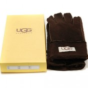 Vente UGG Chocolat Gants Site Officiel