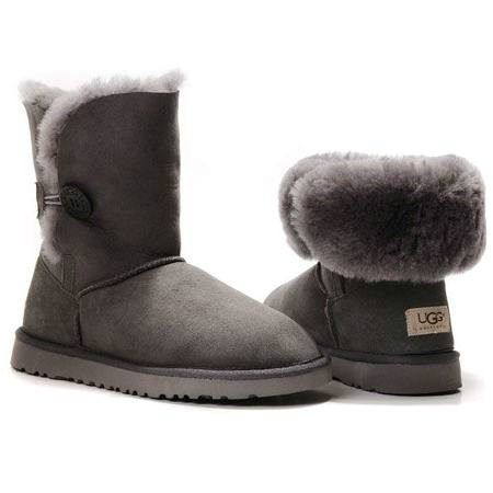 UGG Bottes Bailey Button 5803 Gris
