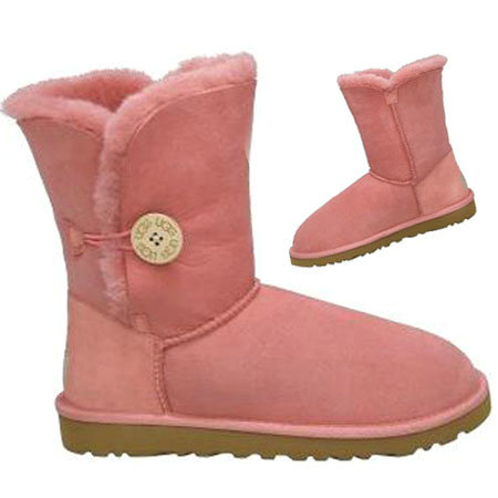 UGG Bottes Bailey Button 5803 Rose