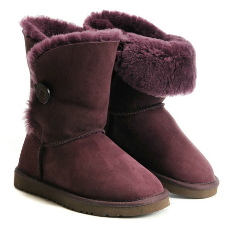 UGG Bottes Bailey Button 5803 Violet