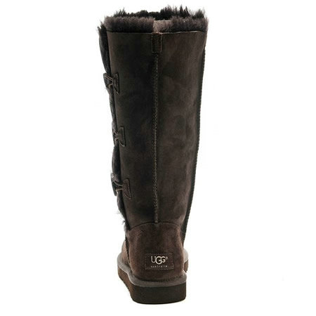 UGG Bottes Bailey Button Triplet 1873 Café