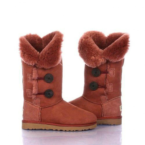 UGG Bottes Bailey Button Triplet 1873 Clay