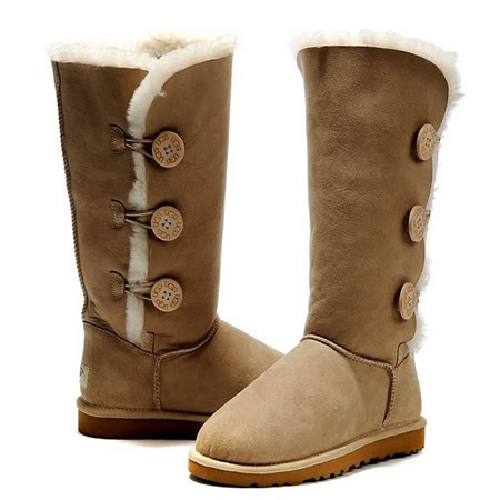 UGG Bottes Bailey Button Triplet 1873 Sable