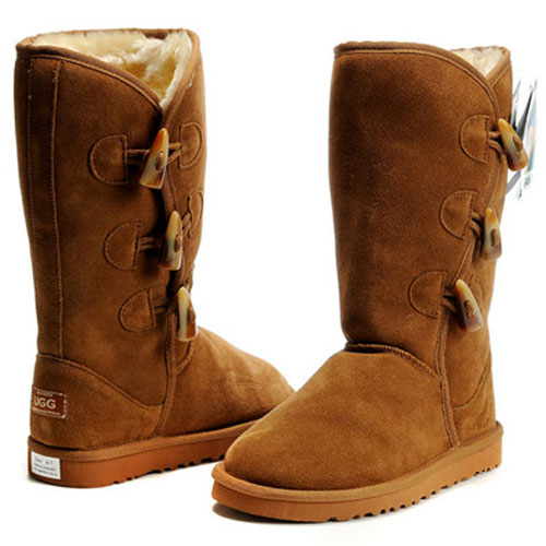 UGG Bottes Bailey Button Triplet 5885 Chataigne
