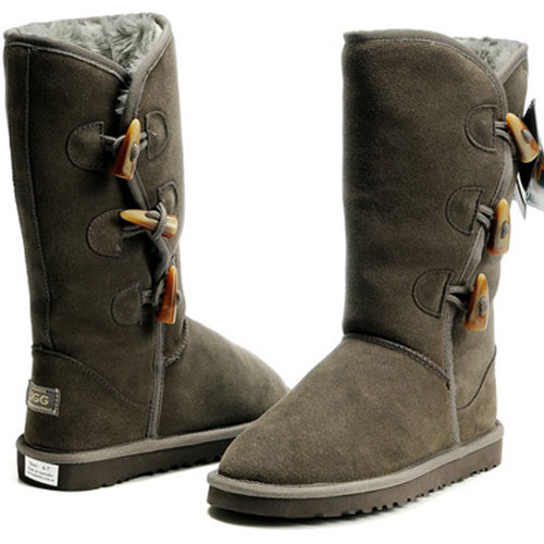 UGG Bottes Bailey Button Triplet 5885 Gris