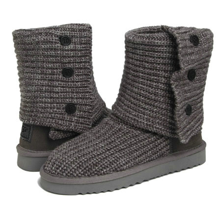 Chaussures UGG Bottes Classic Cardy 5819 Gris