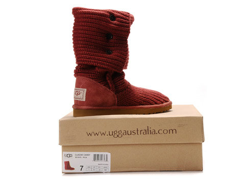 UGG Bottes Classic Cardy 5819 Rouge