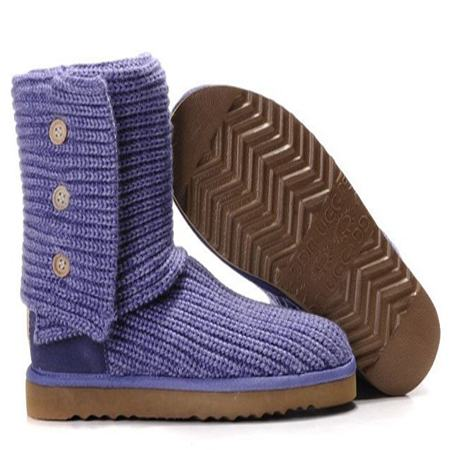 UGG Bottes Classic Cardy 5819 Violet
