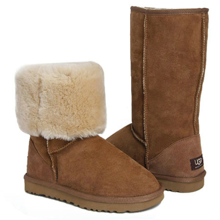 UGG Bottes Classic Tall 5815 Ch?taigne