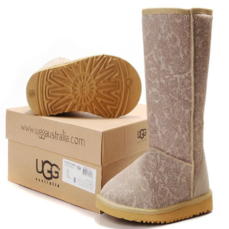 UGG Bottes Classic Tall 5852 Paisley