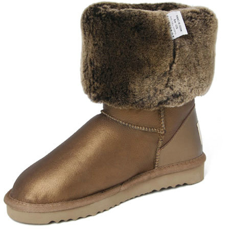 UGG Bottes Classic Tall Metallic or 5812