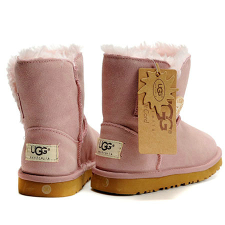 UGG Bottes Enfants Bailey Button 5991 Rose