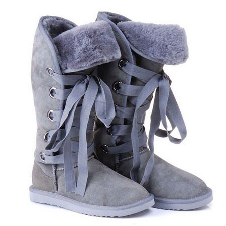 UGG Bottes Roxy Grand Gris 5818