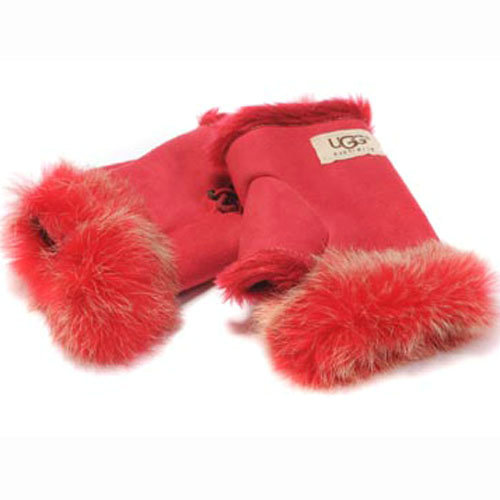 Bottine UGG Gant Rouge