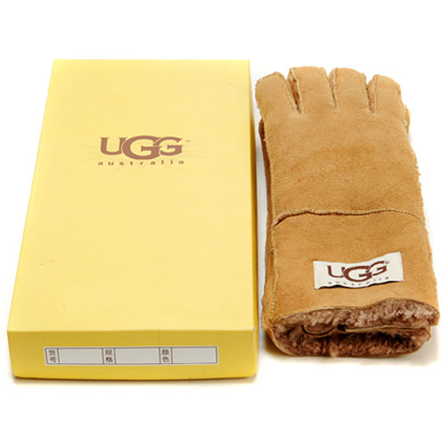 UGG Outlet Online Gants marrons